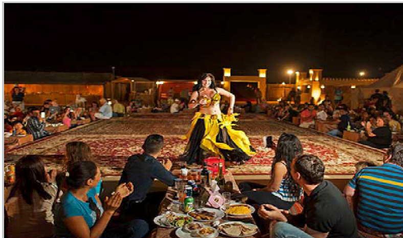 An Unforgettable Exhilaration and Relaxation in the Evening Desert ...