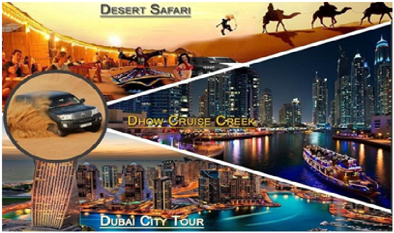 Tripadvisor | Trio Package (Dubai City Tour+Dhow Dinner Cruise+ ...