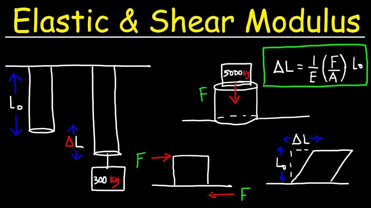 Elasticity and Modulus of Elasticity