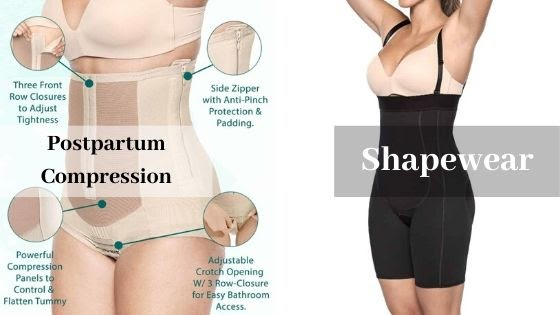 Postpartum Compression vs. Shapewear