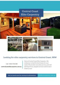 Carpenter Central Coast NSW