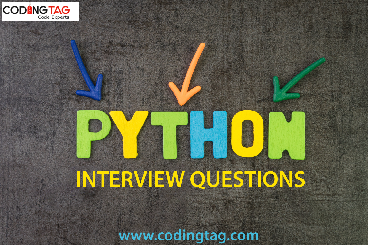 python interview question answer codingtag