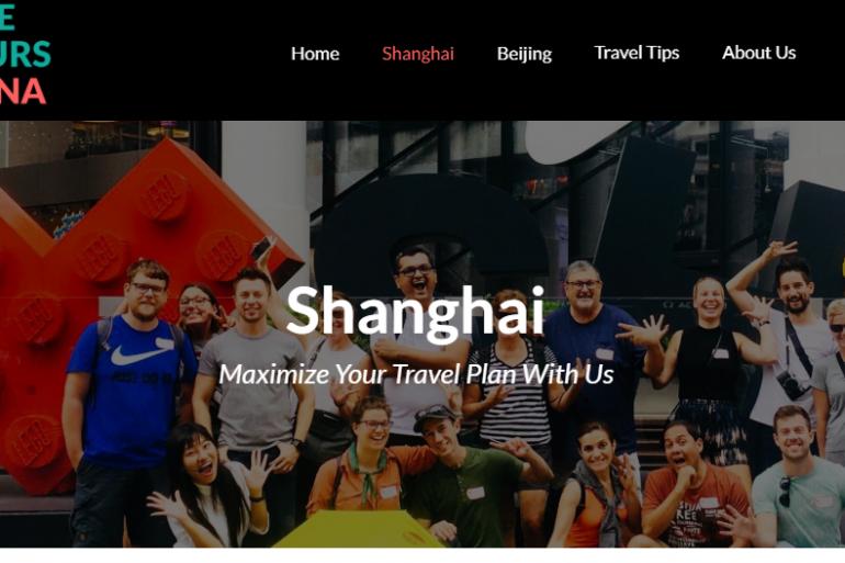 Shanghai walking tour