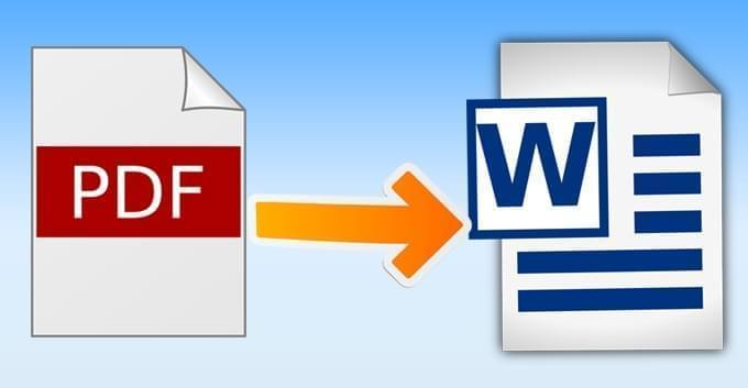 pdf to word file